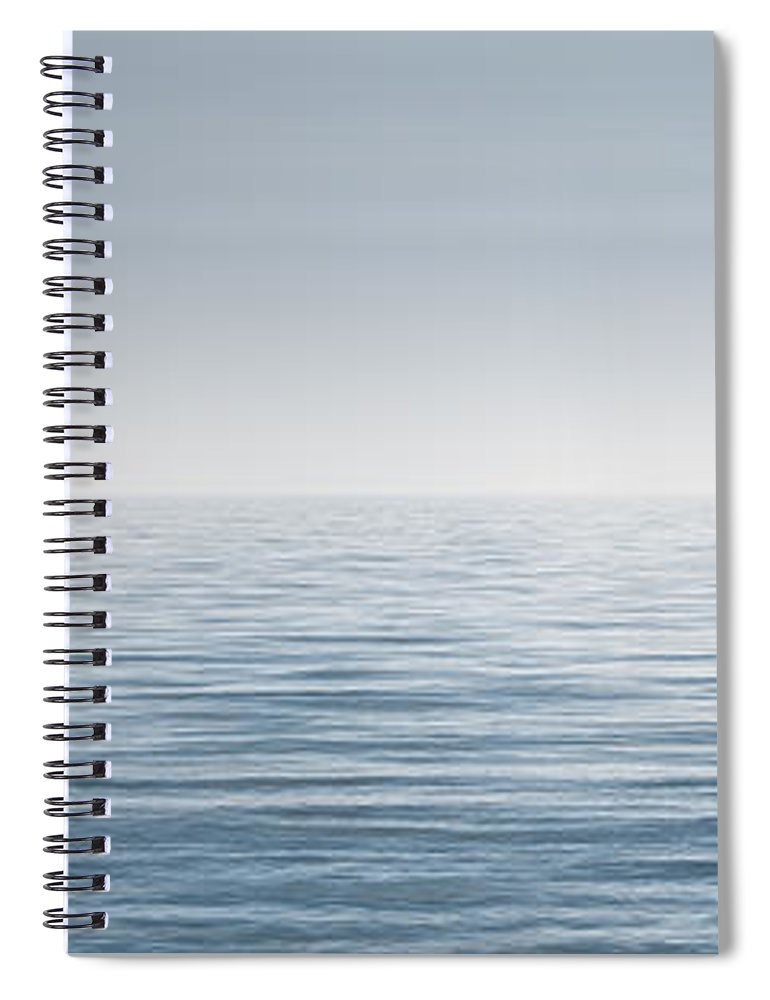 Water Spiral Notebook featuring the photograph Limitless by Scott Norris
