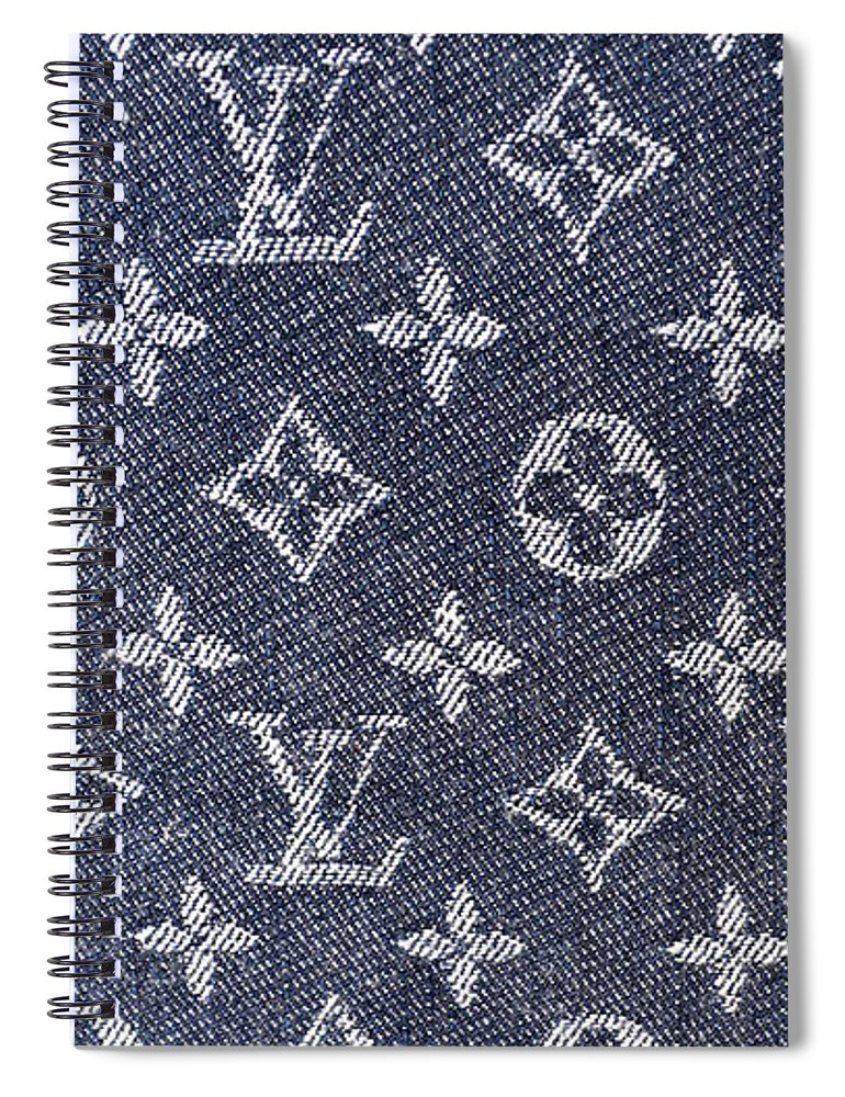 616c3852f899 Louis Vuitton Blue Jean Fabric Monogram Spiral Notebook for Sale by To-Tam  Gerwe