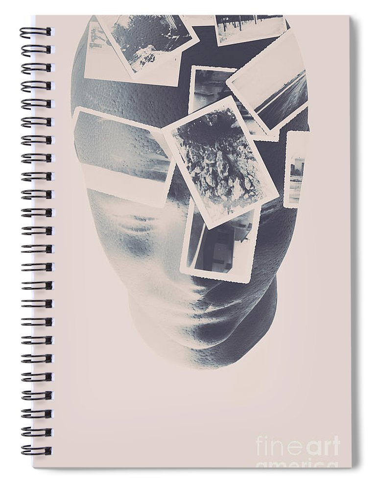 Artwork Spiral Notebook featuring the photograph Memories Beyond The Mind by Jorgo Photography - Wall Art Gallery