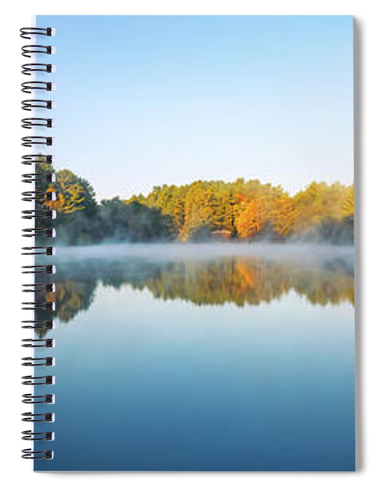 Mirror Lake State Park Spiral Notebook featuring the photograph Mirror Lake by Scott Norris