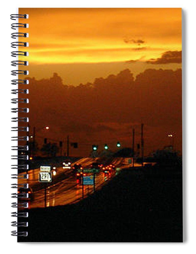 Landscape Spiral Notebook featuring the photograph Missouri 291 by Steve Karol