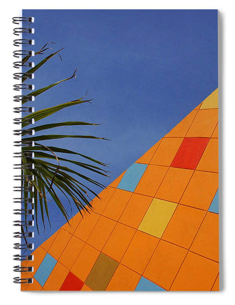 Architecture Spiral Notebook featuring the photograph Modern Architecture by Susanne Van Hulst