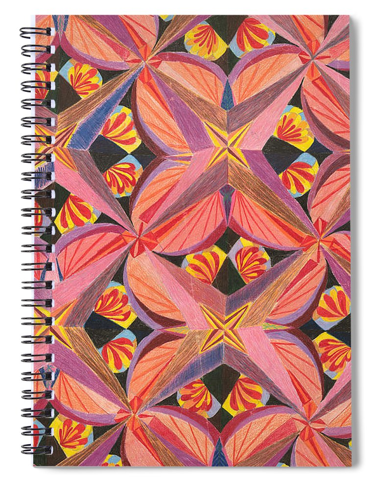 Butterfly Spiral Notebook featuring the drawing Monarch by Kim Sy Ok
