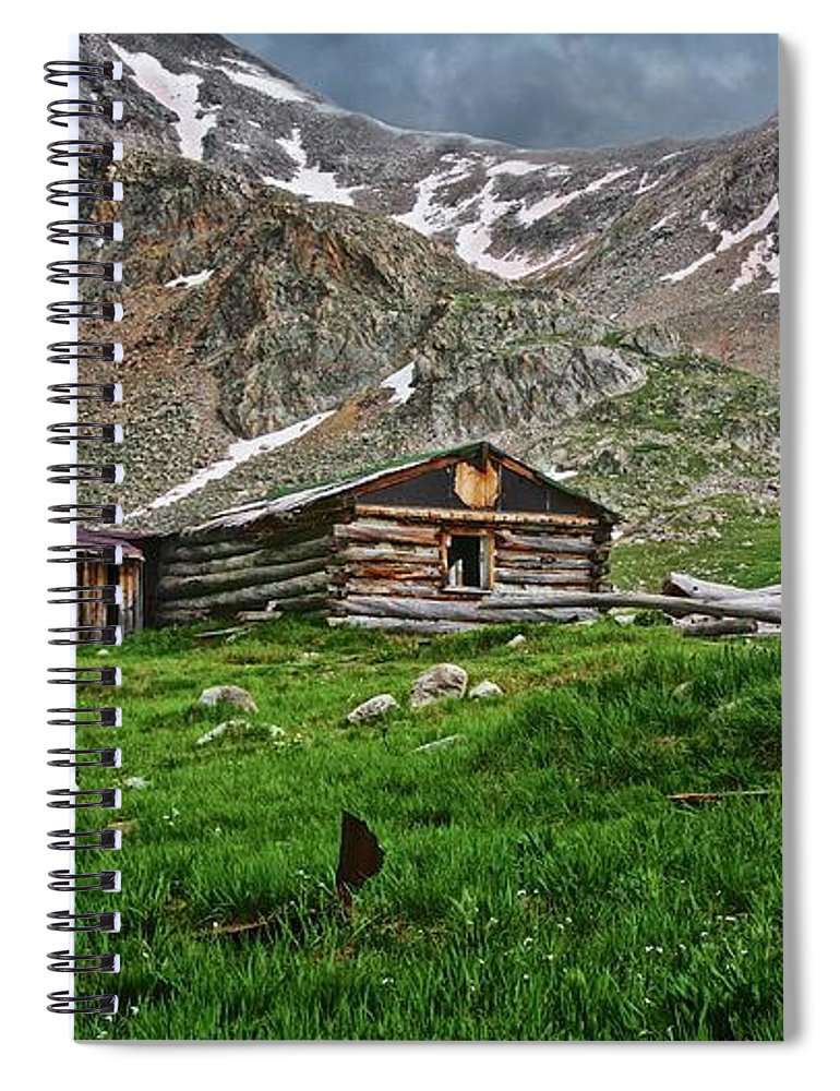 Nature Spiral Notebook featuring the photograph Mother Nature's Reclamation Process, by Zayne Diamond Photographic