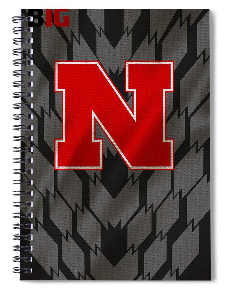 Nebraska Cornhuskers Spiral Notebook featuring the photograph Nebraska Cornhuskers Uniform by Joe Hamilton