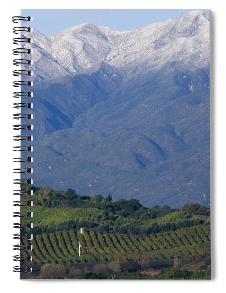 Nordhoff Ridge Spiral Notebook featuring the photograph Nordhoff Ridge by Soli Deo Gloria Wilderness And Wildlife Photography