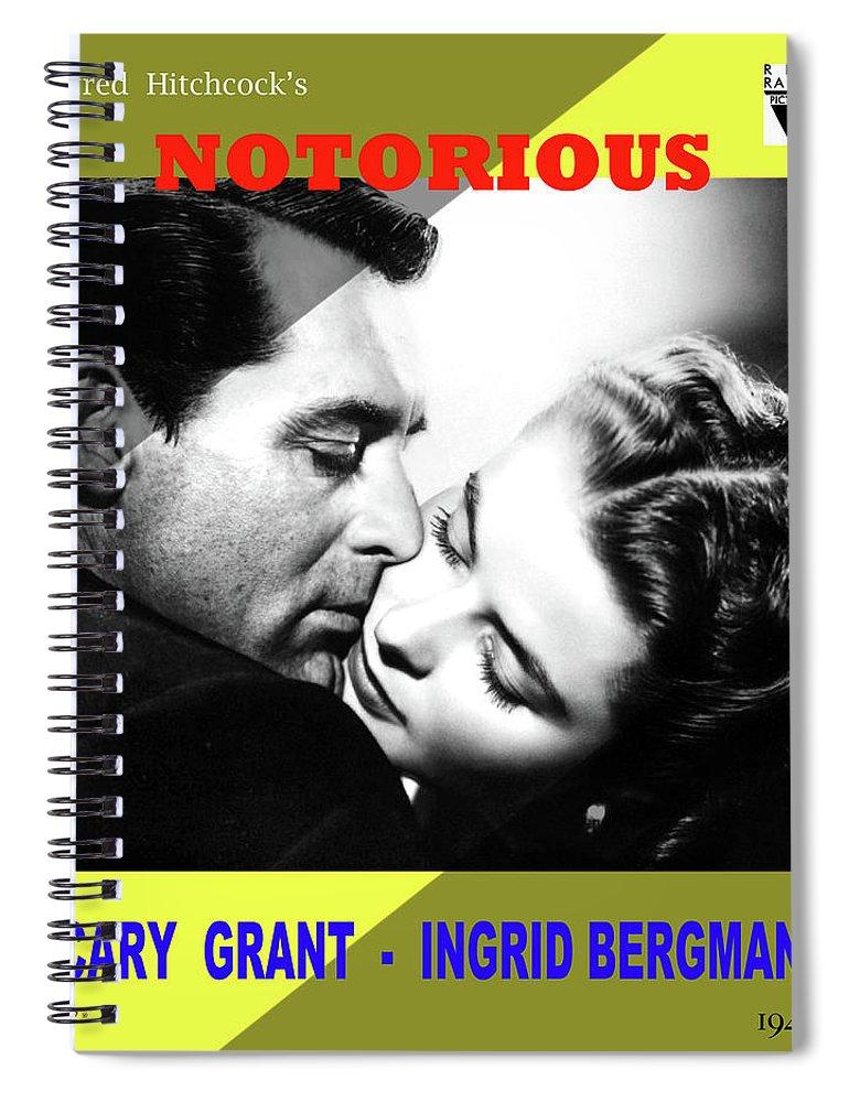 Notorious Cary Grant Ingrid Bergman Hitchcock movie poster print 7 1946