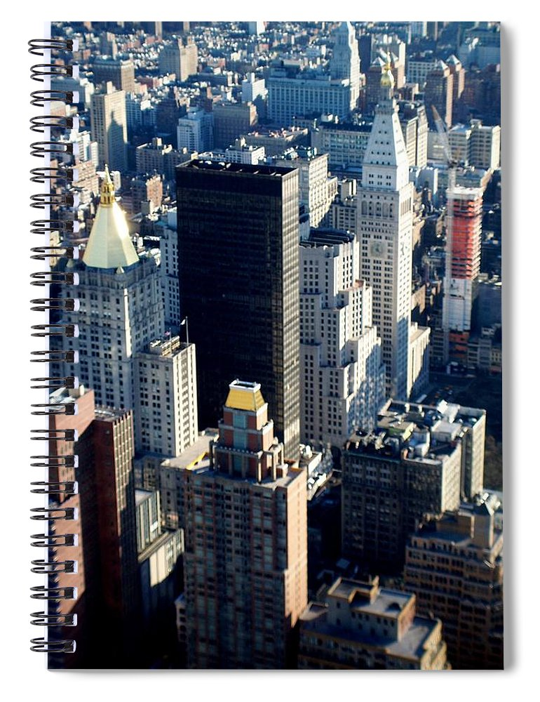 Nyc Spiral Notebook featuring the photograph Nyc 2 by Anita Burgermeister