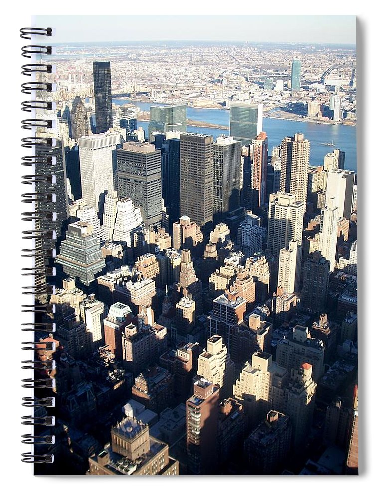 Nyc Spiral Notebook featuring the photograph Nyc 4 by Anita Burgermeister