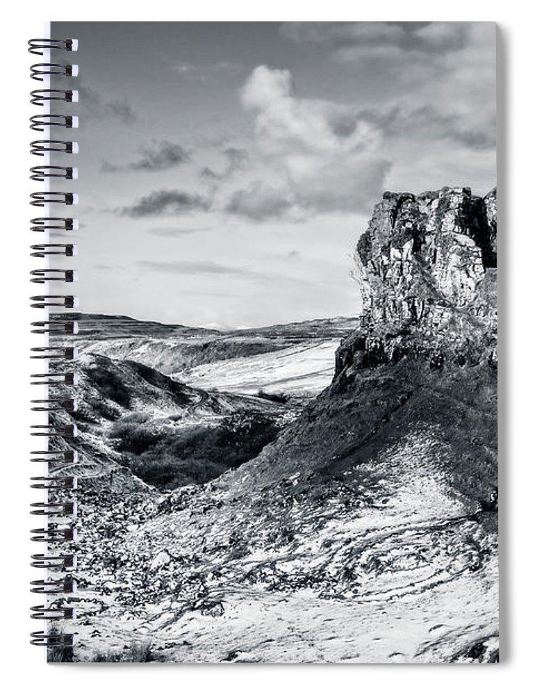 Kremsdorf Spiral Notebook featuring the photograph Peak Of Imagination by Evelina Kremsdorf