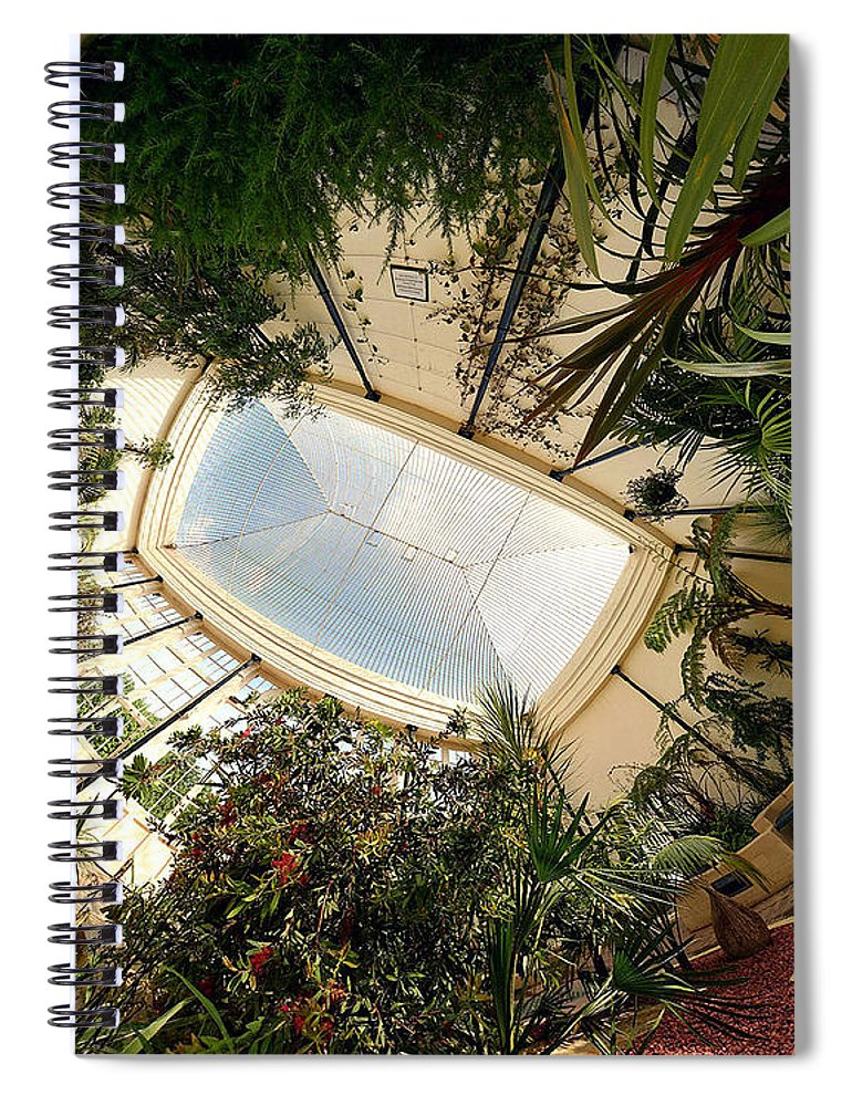 Real World Spiral Notebook featuring the digital art Real World by Maye Loeser