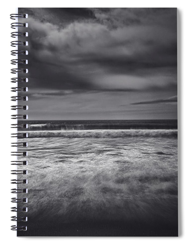Garrapata State Park Spiral Notebook featuring the photograph Release by Laurie Search