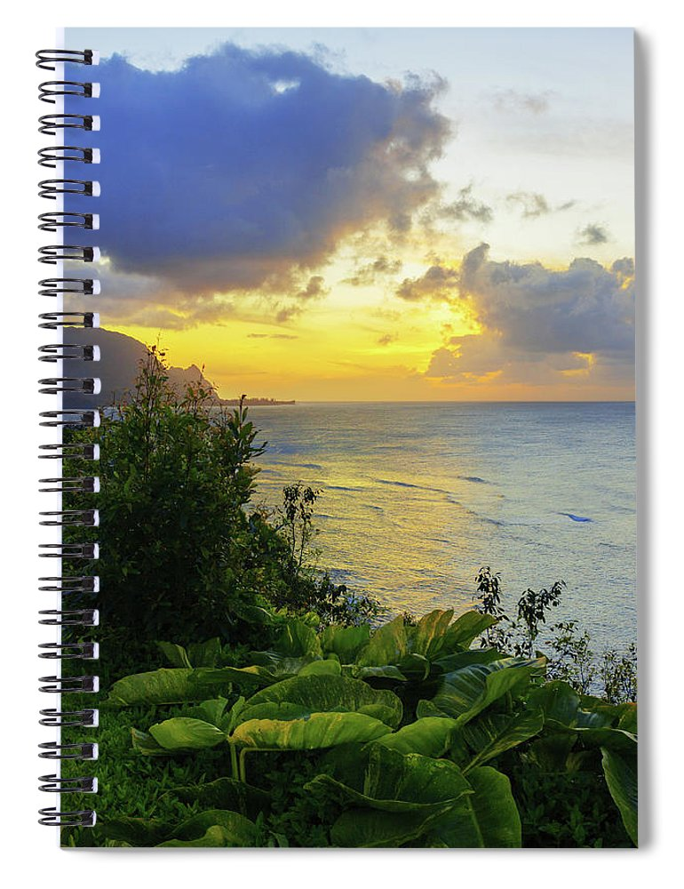Beach Spiral Notebook featuring the photograph Return by Chad Dutson