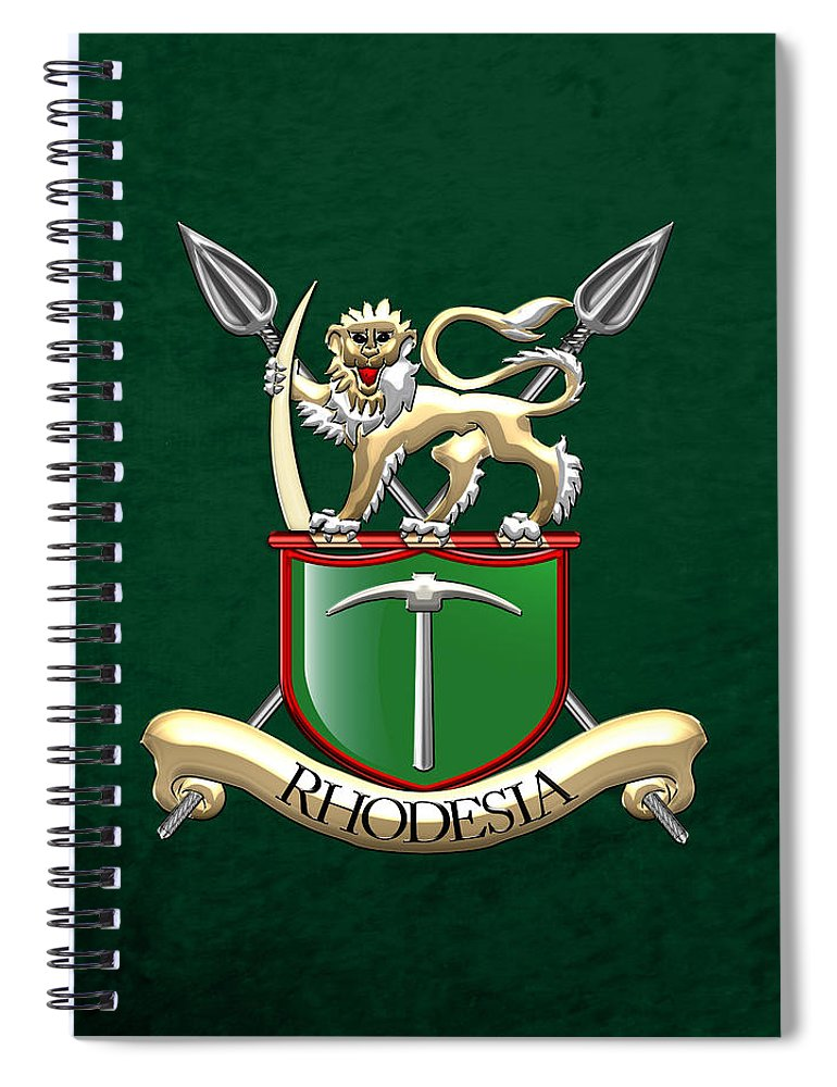 c4d4e047749d  military Insignia   Heraldry 3d  Collection By Serge Averbukh Spiral  Notebook featuring the digital
