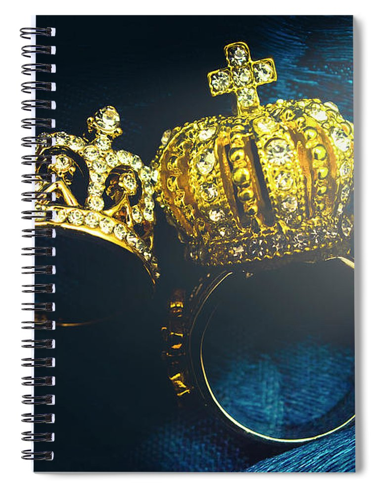 Royal Spiral Notebook featuring the photograph Rings Of Nobility by Jorgo Photography - Wall Art Gallery