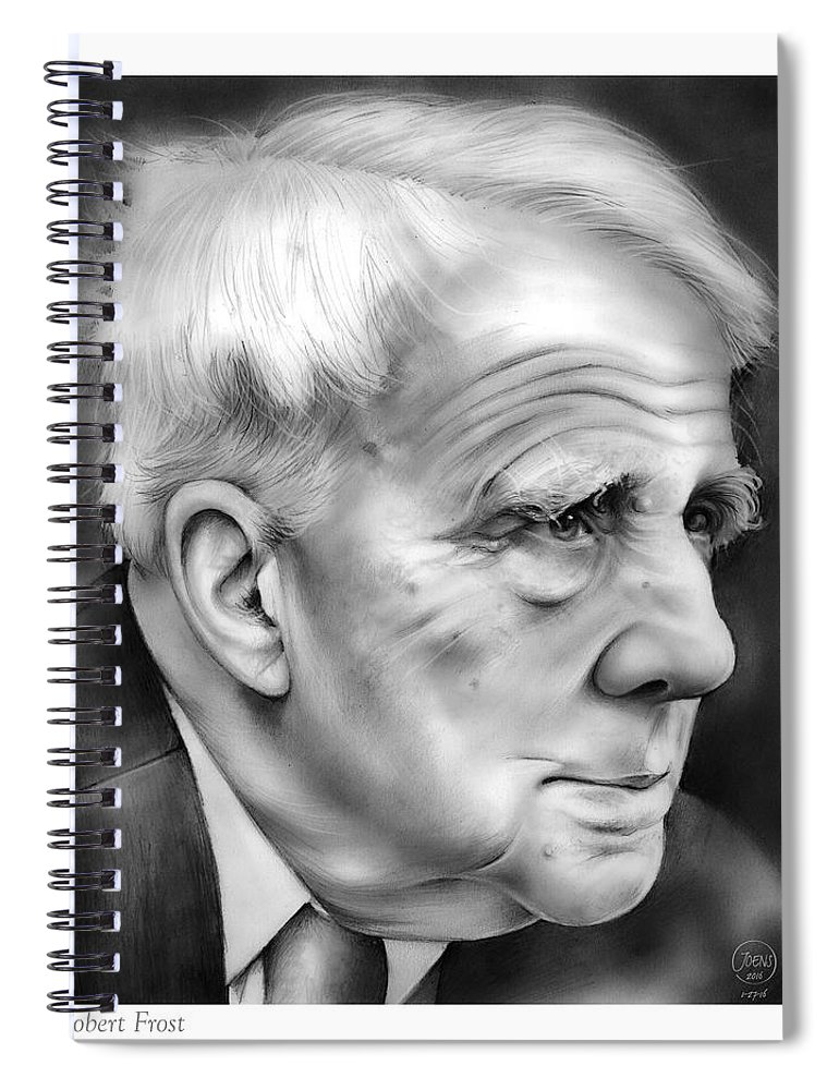 ada23df4262a Robert Frost Spiral Notebook