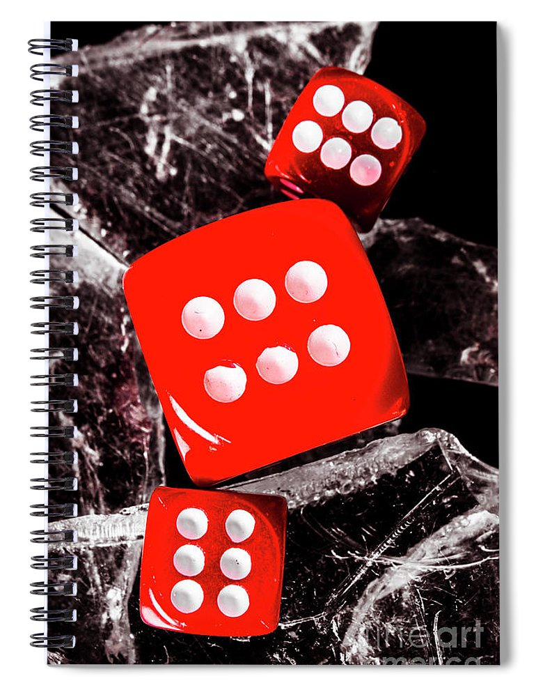 Sharp Spiral Notebook featuring the photograph Roll Play Of Still Life by Jorgo Photography - Wall Art Gallery