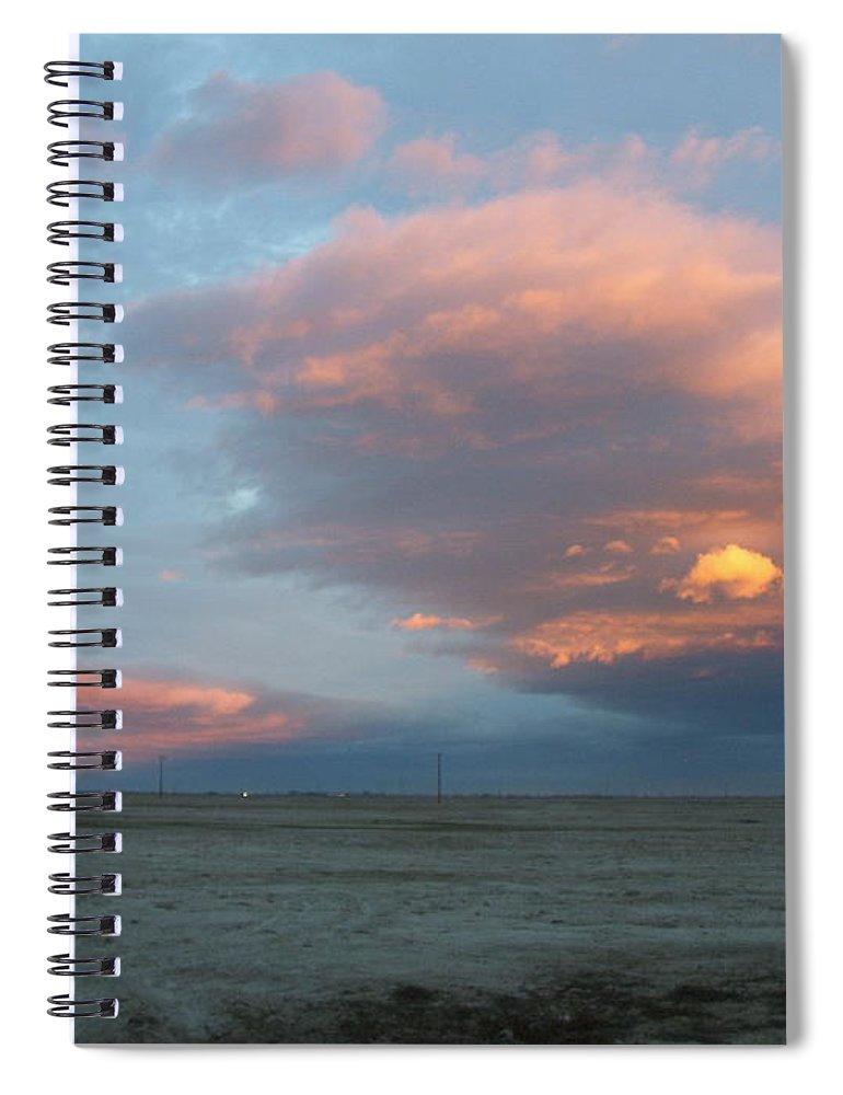 Desert Spiral Notebook featuring the photograph Self-abandoned by Shari Chavira