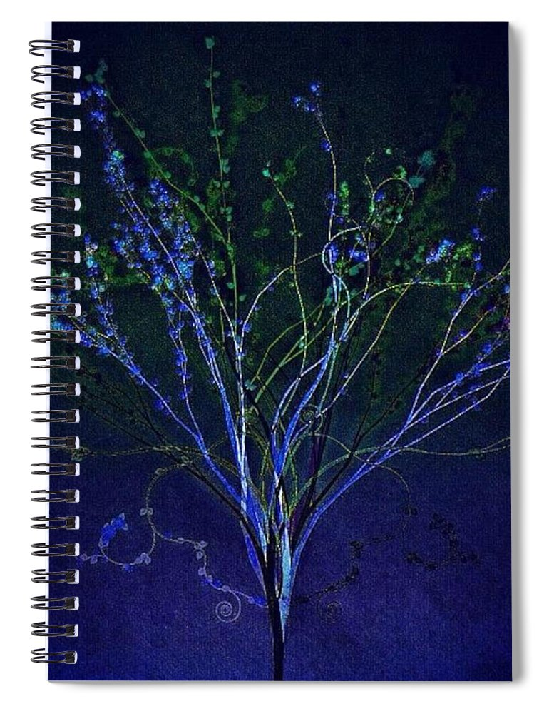 Augustine Spiral Notebook featuring the photograph Since Love Grows Within You by Nick Heap