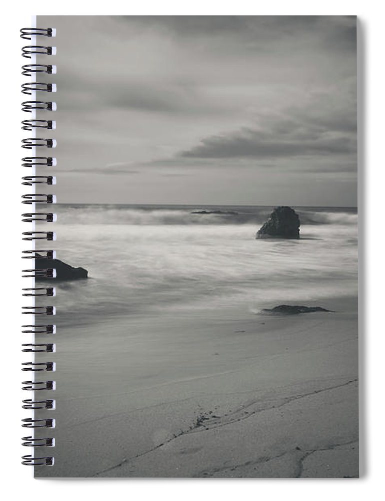 Garrapata State Park Spiral Notebook featuring the photograph Since Our Last Goodbye by Laurie Search