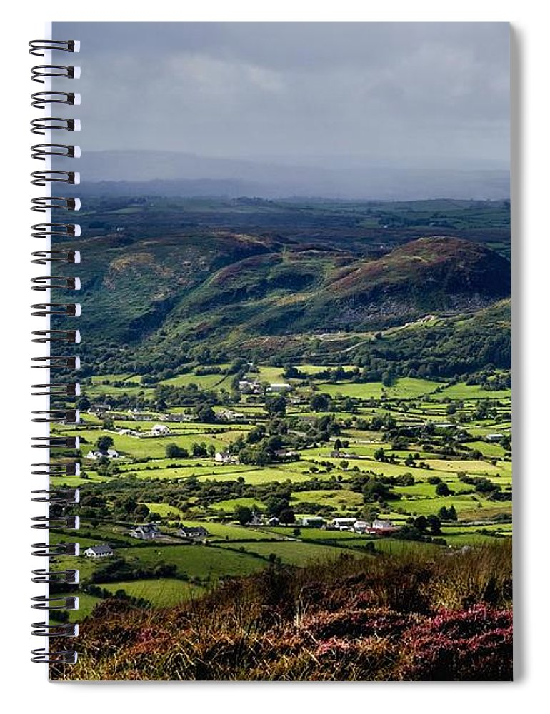 Beauty In Nature Spiral Notebook featuring the photograph Slieve Gullion, Co. Armagh, Ireland by The Irish Image Collection