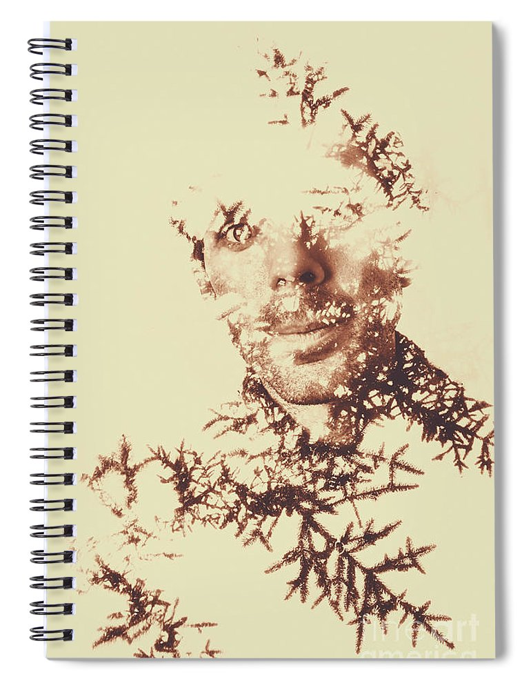 Forest Spiral Notebook featuring the photograph Solace Of Spirit Within by Jorgo Photography - Wall Art Gallery