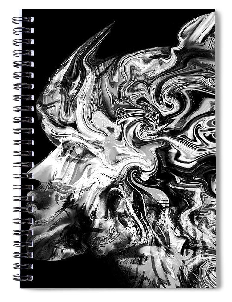 Spirit Of The Viking Warrior Spiral Notebook