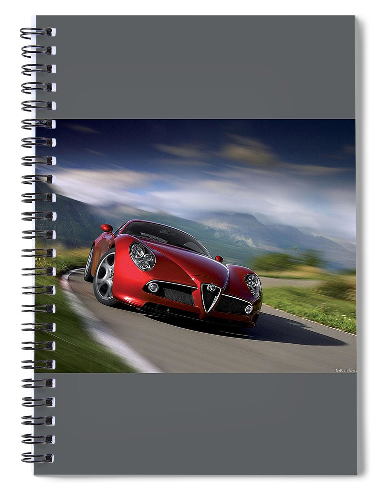 Sport Spiral Notebook featuring the photograph Sport by Jackie Russo