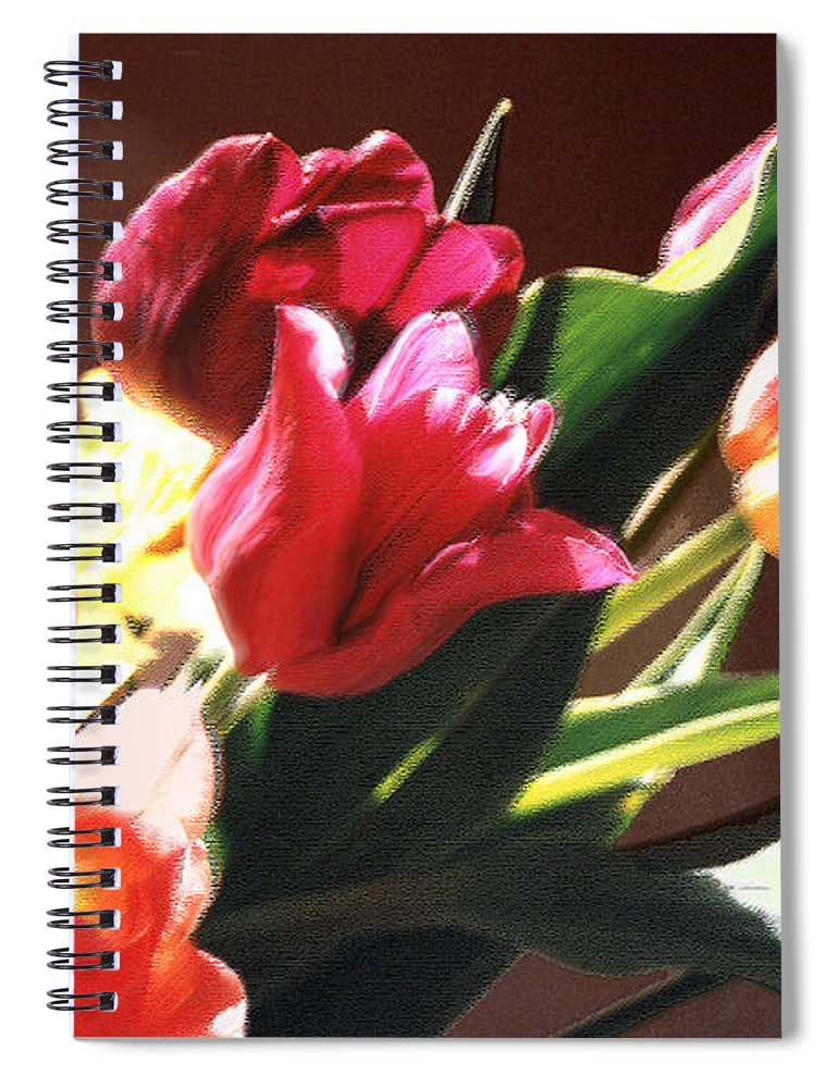 Floral Still Life Spiral Notebook featuring the photograph Spring Bouquet by Steve Karol