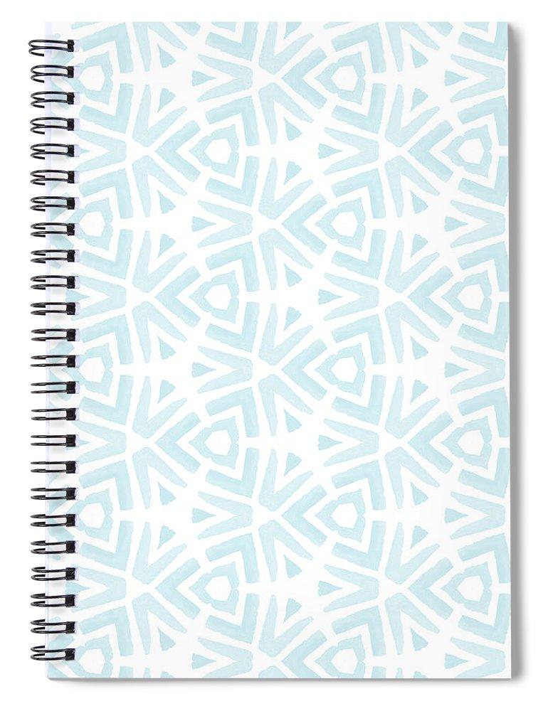 Pattern Spiral Notebook featuring the digital art Summer Splash- Pattern Art By Linda Woods by Linda Woods