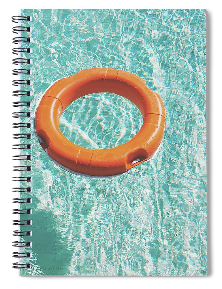 Water Spiral Notebook featuring the photograph Swimming Pool III by Cassia Beck