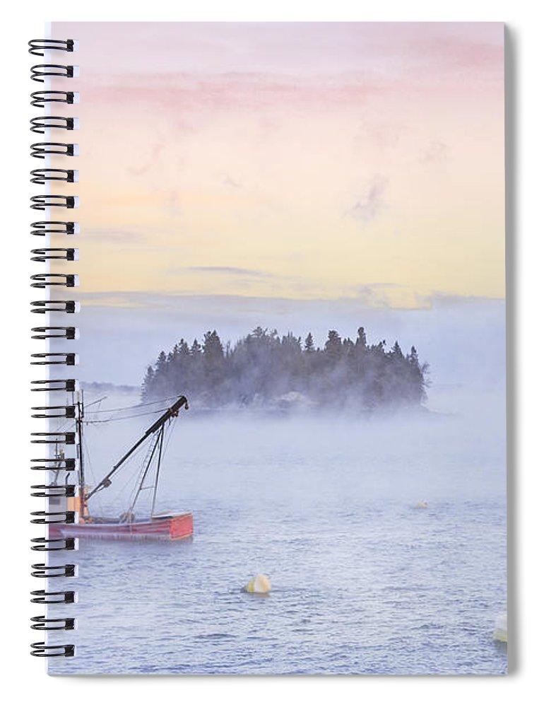 Kremsdorf Spiral Notebook featuring the photograph Taste Of Dawn by Evelina Kremsdorf