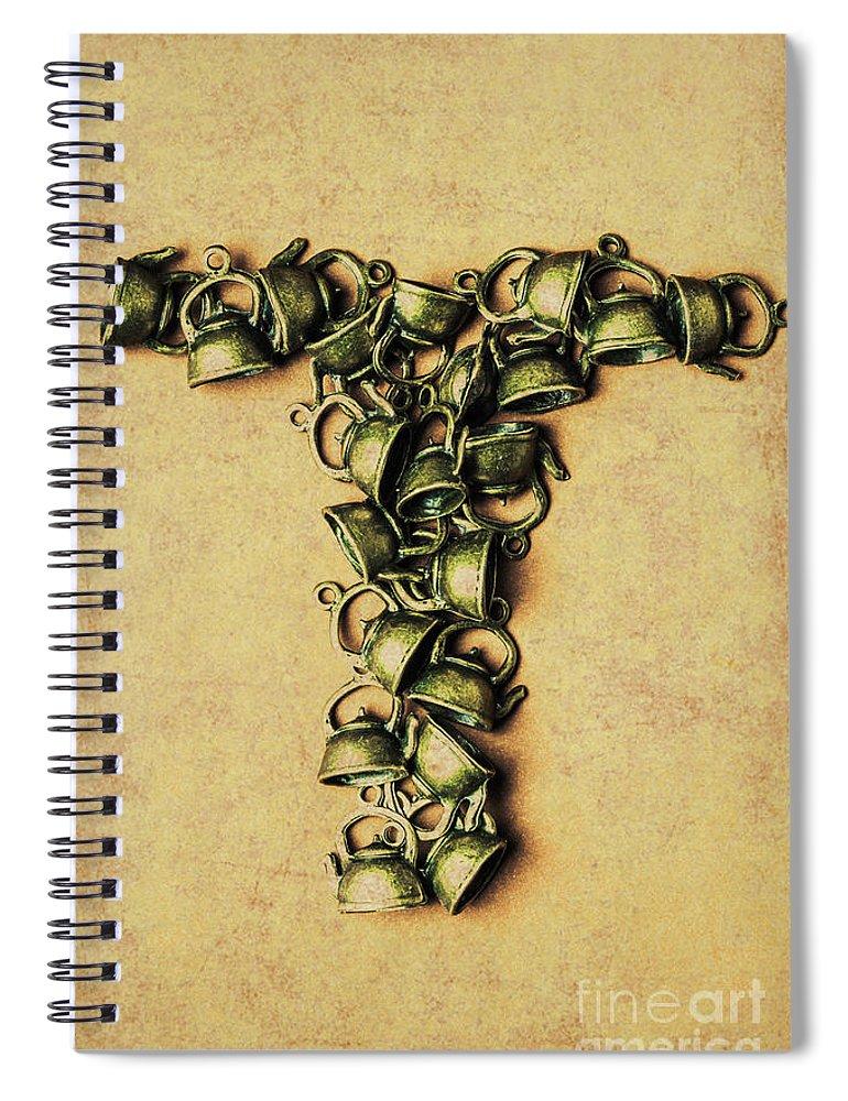 Drink Spiral Notebook featuring the photograph Tea Pot Art by Jorgo Photography - Wall Art Gallery