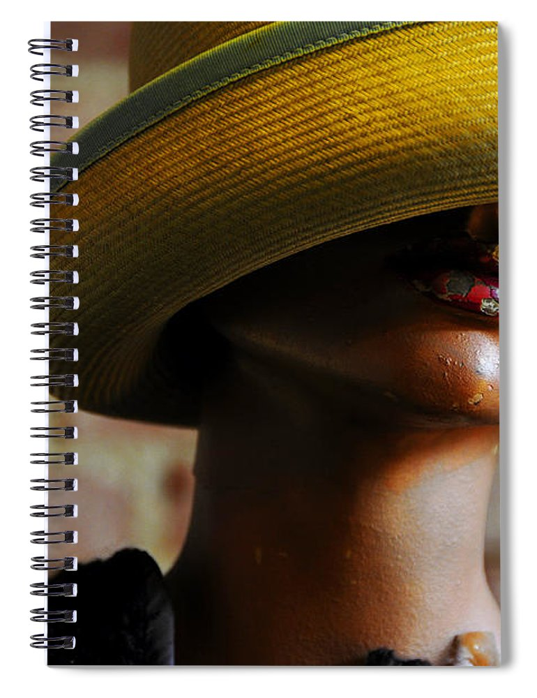 Aged Spiral Notebook featuring the photograph Tel Aviv by Skip Hunt