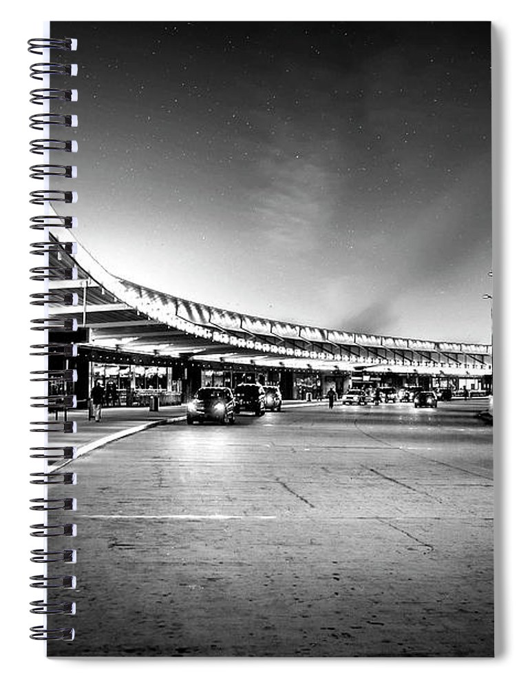 Kremsdorf Spiral Notebook featuring the photograph Terminal Velocity by Evelina Kremsdorf