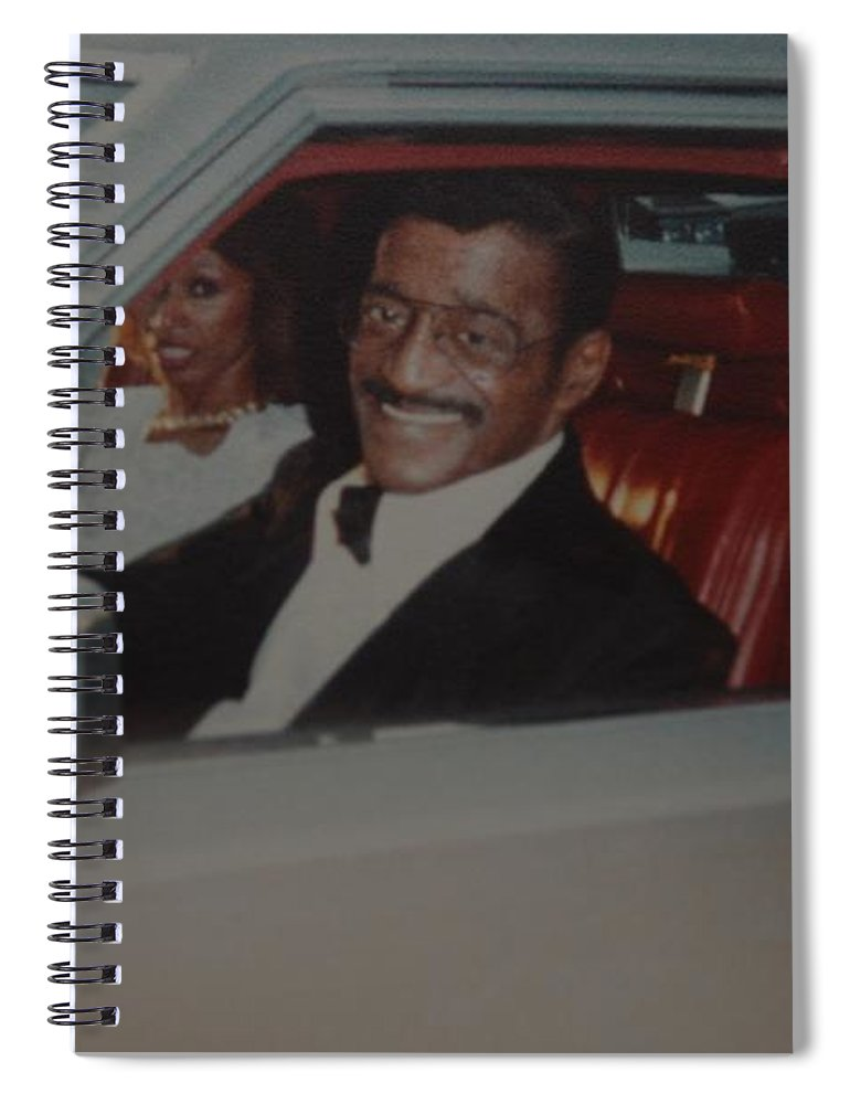 Movie Star Spiral Notebook featuring the photograph The Candy Man by Rob Hans