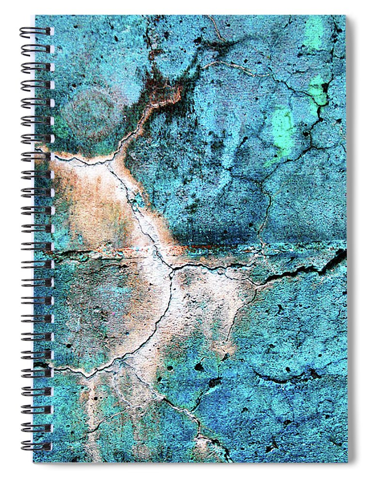 Macro Spiral Notebook featuring the photograph The Dancer by Tara Turner