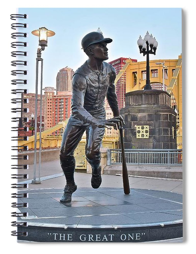 Pittsburgh Spiral Notebook featuring the photograph The Great One by Frozen in Time Fine Art Photography