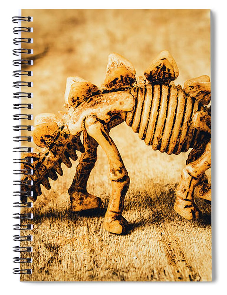 Exhibit Spiral Notebook featuring the photograph The Stegosaurus Art In Form by Jorgo Photography - Wall Art Gallery