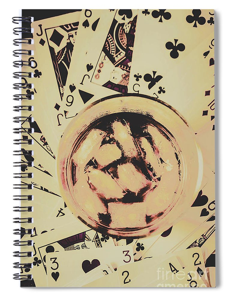 Casino Spiral Notebook featuring the photograph The Wild West Casino by Jorgo Photography - Wall Art Gallery