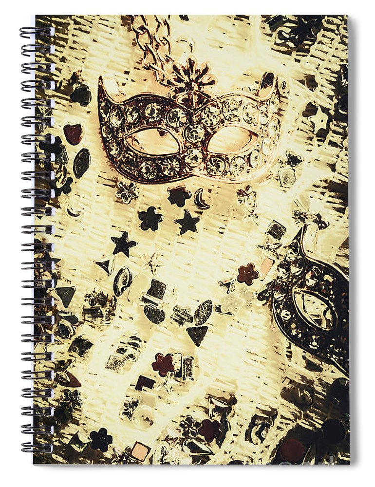 Theater Spiral Notebook featuring the photograph Theater Fun Art by Jorgo Photography - Wall Art Gallery