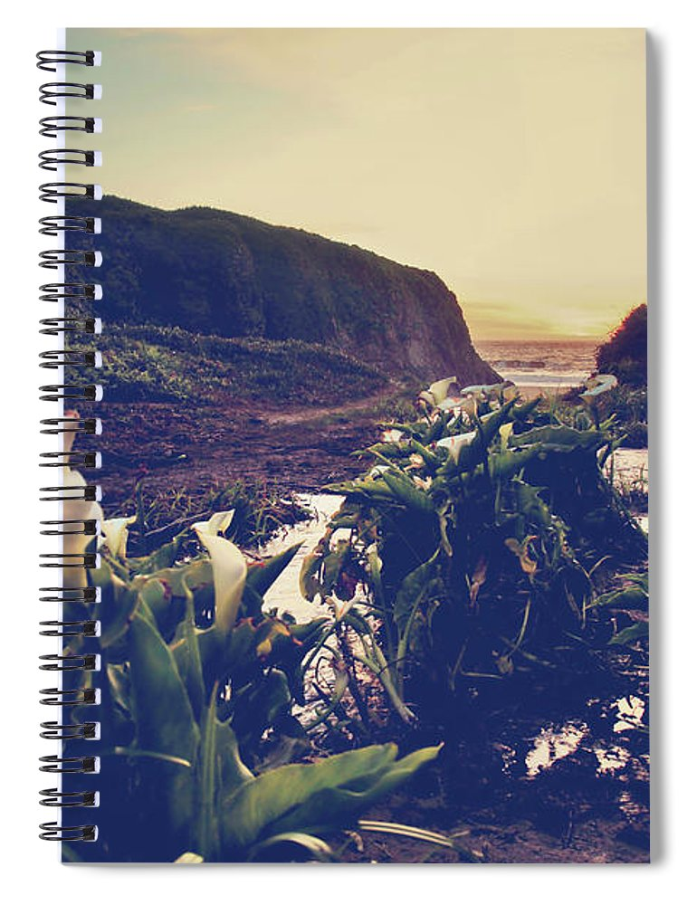 Garrapata State Beach Spiral Notebook featuring the photograph There Is Harmony by Laurie Search