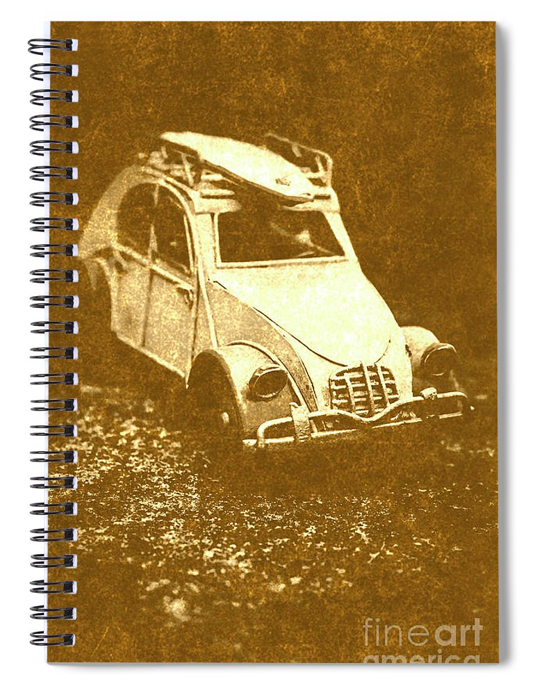 Classic Spiral Notebook featuring the photograph Tin Surf Adventure by Jorgo Photography - Wall Art Gallery