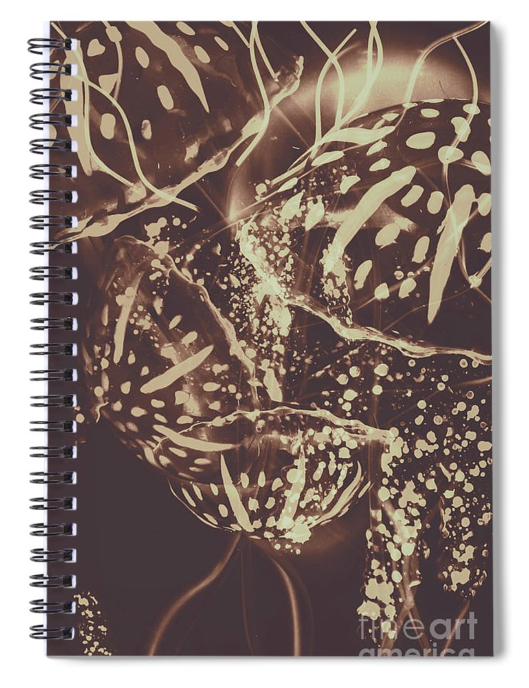Fish Spiral Notebook featuring the photograph Translucent Abstraction by Jorgo Photography - Wall Art Gallery