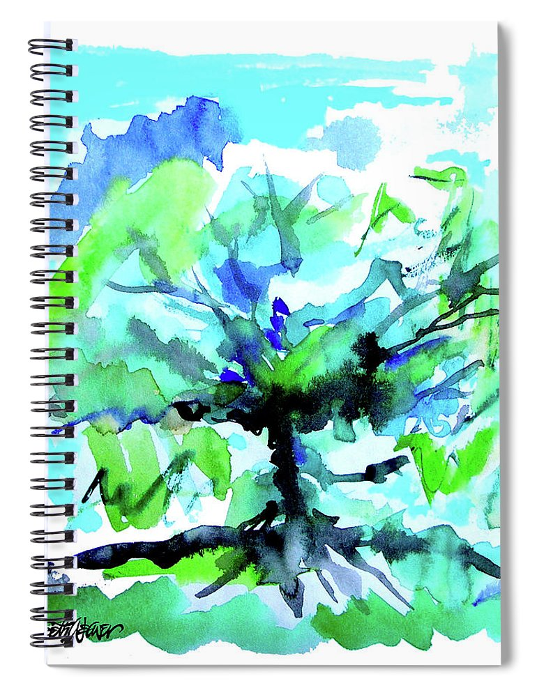 Tree Of Life Spiral Notebook featuring the painting Tree of Life by Seth Weaver