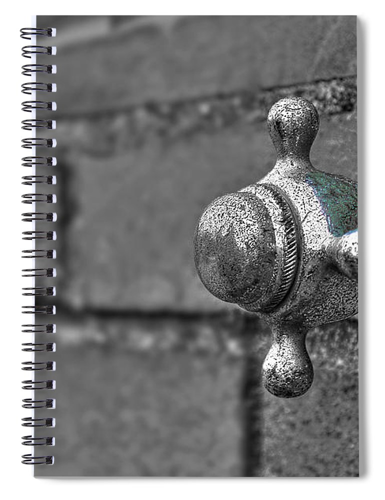 Beach Spiral Notebook featuring the photograph Twist And Turn by Evelina Kremsdorf