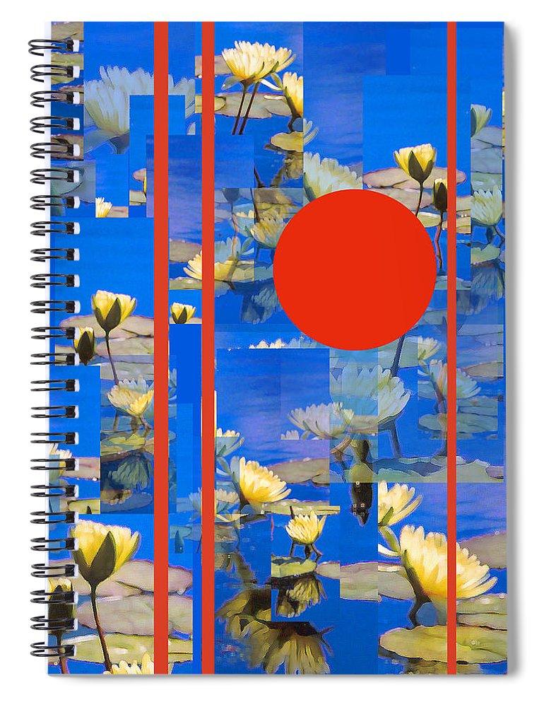 Flowers Spiral Notebook featuring the photograph Vertical Horizon by Steve Karol