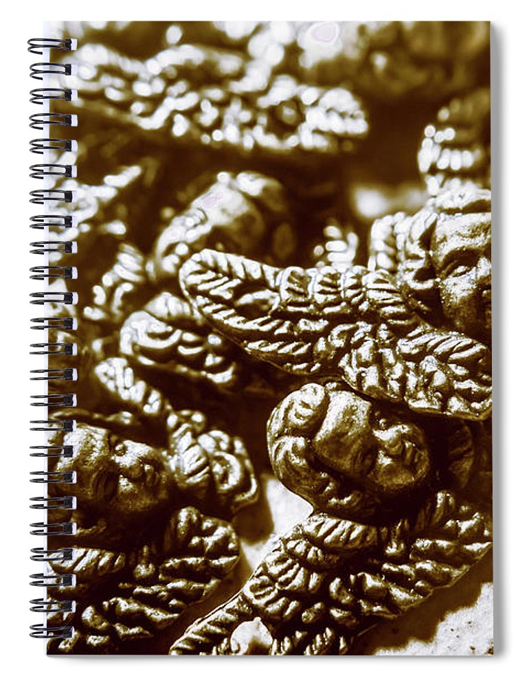 Heaven Spiral Notebook featuring the photograph Vintage Angels Artwork by Jorgo Photography - Wall Art Gallery