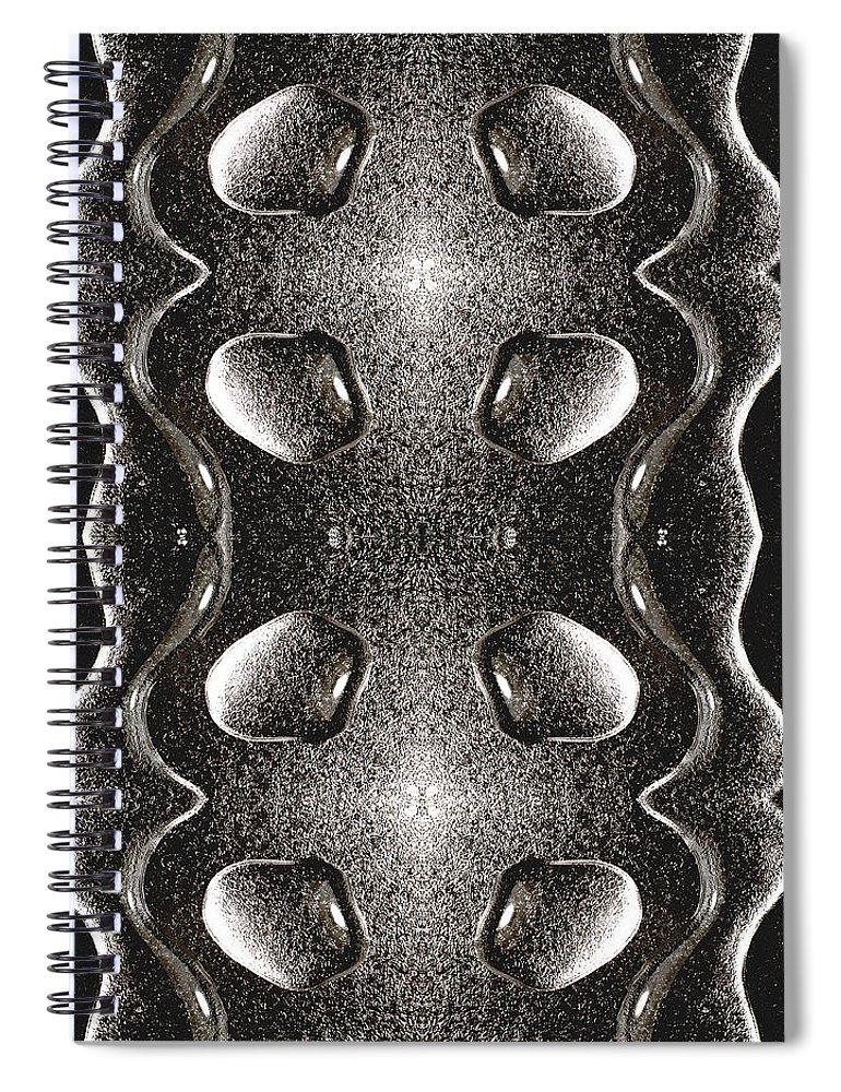 Water Spiral Notebook featuring the photograph Waterscape 1 by Nancy Mueller