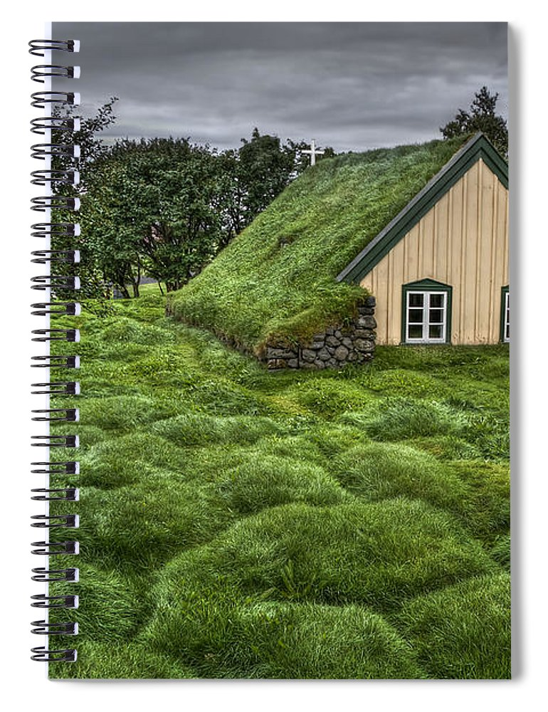 Hof Spiral Notebook featuring the photograph When Heaven Calls Your Name by Evelina Kremsdorf